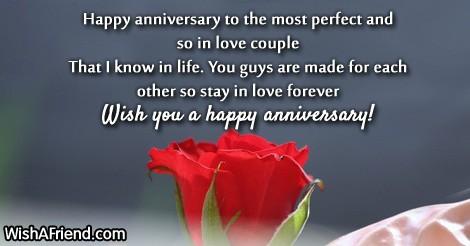 Index of anniversary